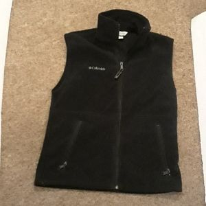 Columbia fleece vest mens